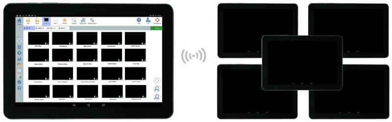 Blank Trainee Screens - Instructor Ability to black-out Student Android Screens - SoftLINK For Android