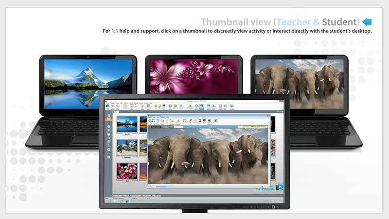 Monitor Student Chromebooks - Use Student Thumbnails to Detect if Students Need Help - SoftLINK For Chromebook